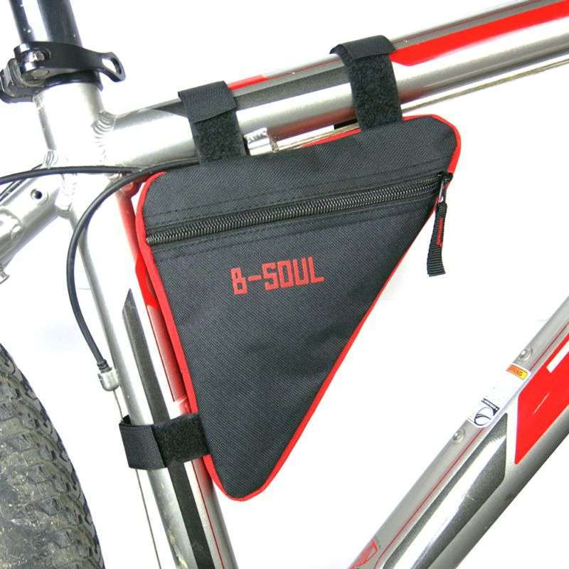 Waterproof Triangl Cycling Bicycle Bags Front Tube Frame Bag Mountain Triangle Bike Pouch Holder Saddle Bag 3