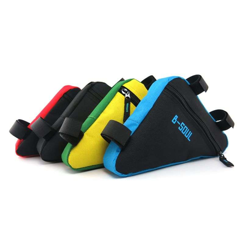 Waterproof Triangl Cycling Bicycle Bags Front Tube Frame Bag Mountain Triangle Bike Pouch Holder Saddle Bag 4