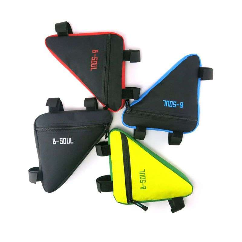 Waterproof Triangl Cycling Bicycle Bags Front Tube Frame Bag Mountain Triangle Bike Pouch Holder Saddle Bag