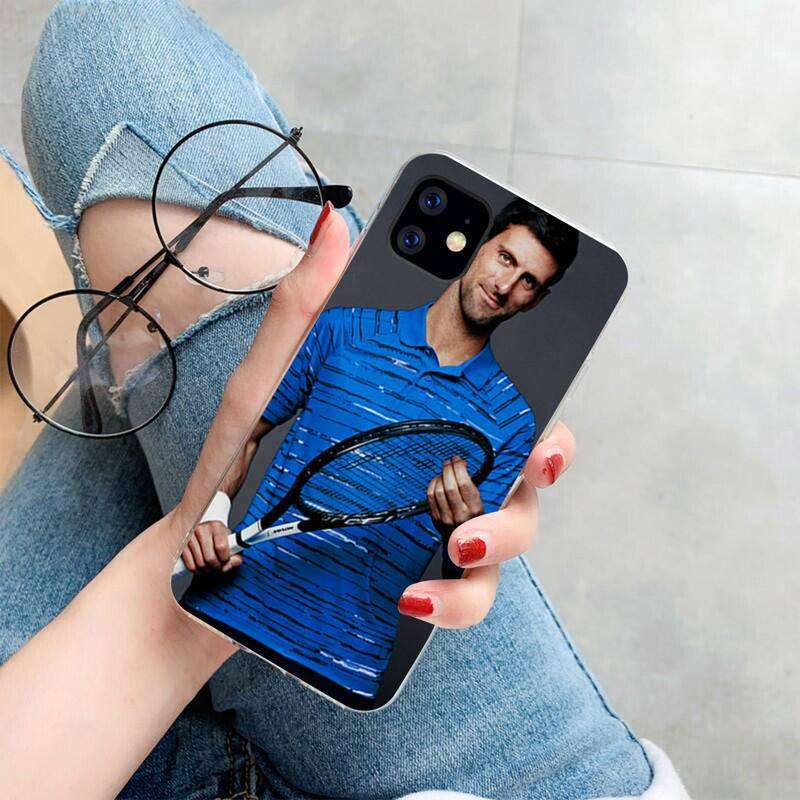 5 HPCHCJHM Novak Djokovic Cover Soft Shell Phone Case for iPhone 11 pro XS MAX 8 7