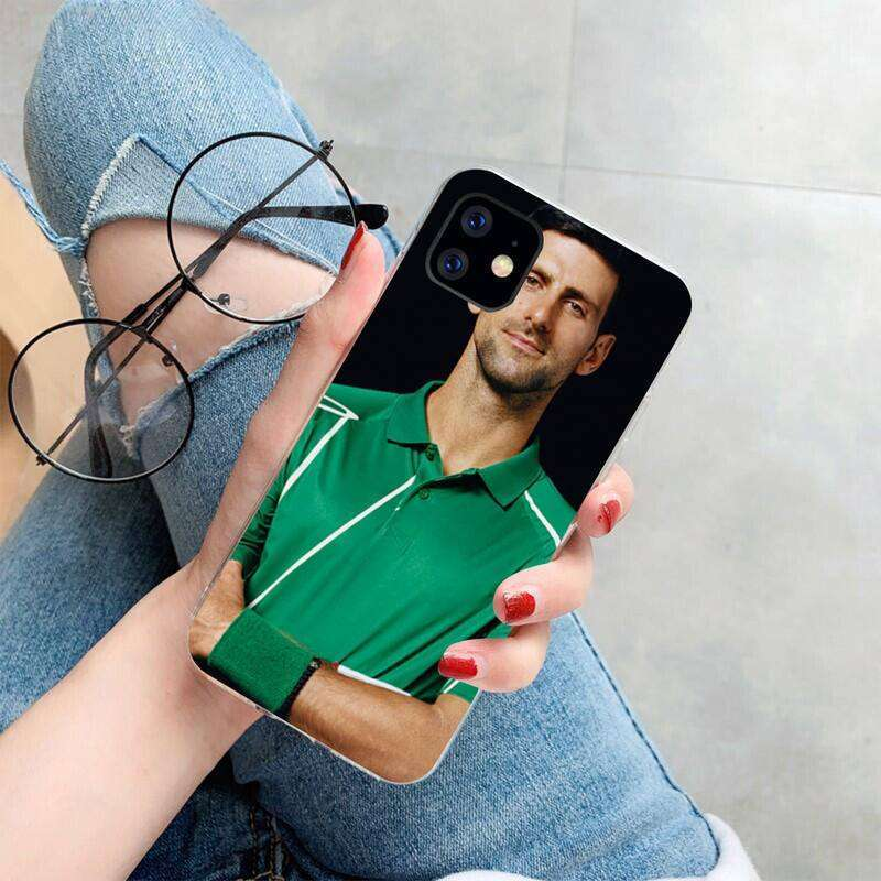 7 HPCHCJHM Novak Djokovic Cover Soft Shell Phone Case for iPhone 11 pro XS MAX 8 7