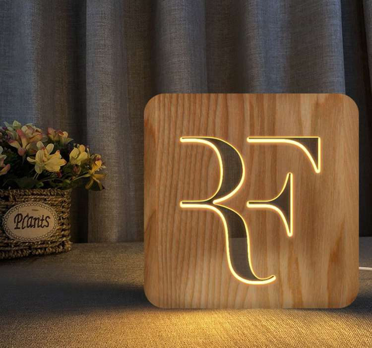 Federer Limited Edition Tennis Night Light Table Lamps