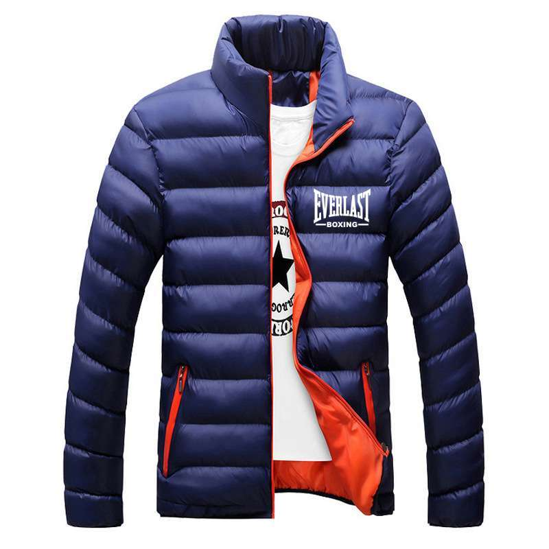 Everlast Boxing Warm Cotton Jackets with Free Boxing Necklace