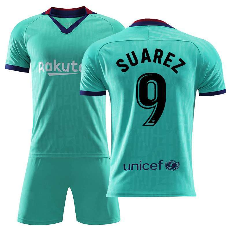 Suarez N9 Barcelona Jerseys and Shorts Suits