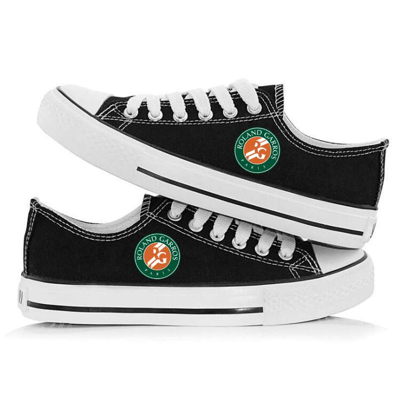 Roland Garros French Open Fashion Low Top Canvas Shoes