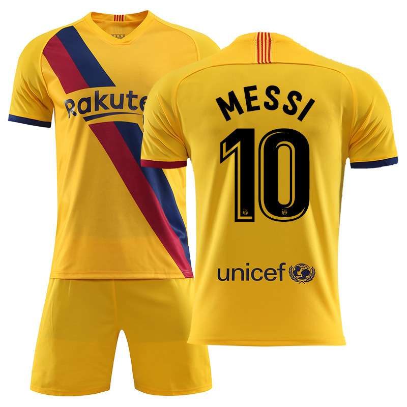 Messi N10 Barcelona Jerseys and Shorts Suits