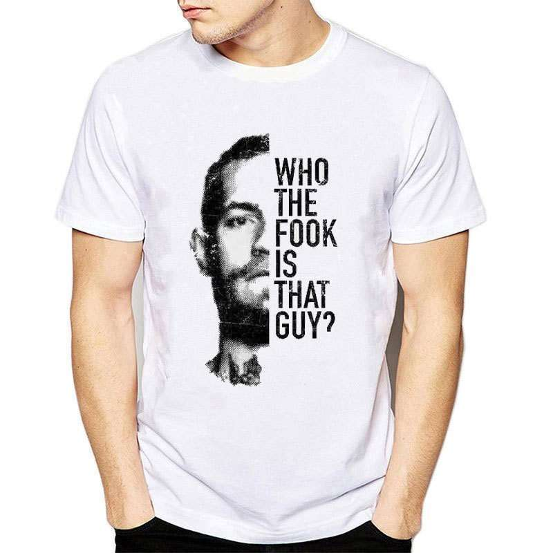 Conor Mcgregor Who Is That Guy O-Neck T-shirt
